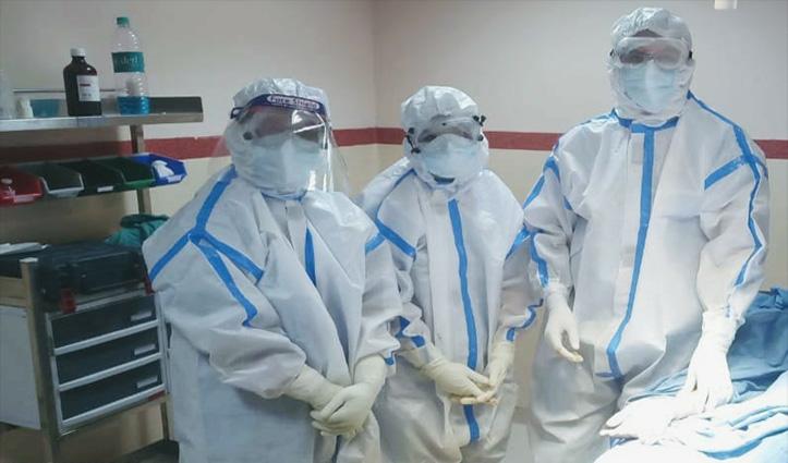 Nerchowk Medical College में हुई Corona Positive की हड्डी की सफल सर्जरी