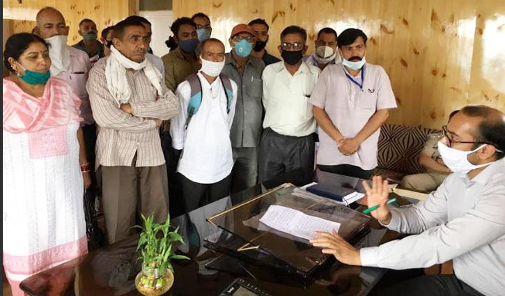 NH- 70 के प्रभावित भूमि-मालिक मुआवजे को हुए लामबंद, कहा-मंडी या हमीरपुर का रेट मिले