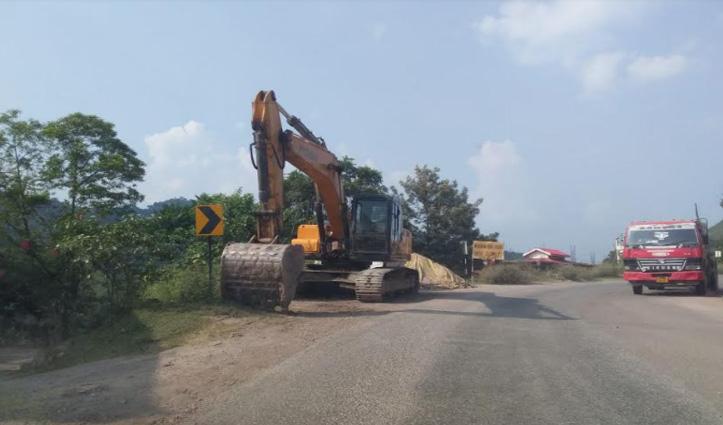 Fourlane निर्माण में लगे मजदूरों-वाहनों का नहीं कोई रिकार्ड, SP Mandi के पास पहुंचा मामला