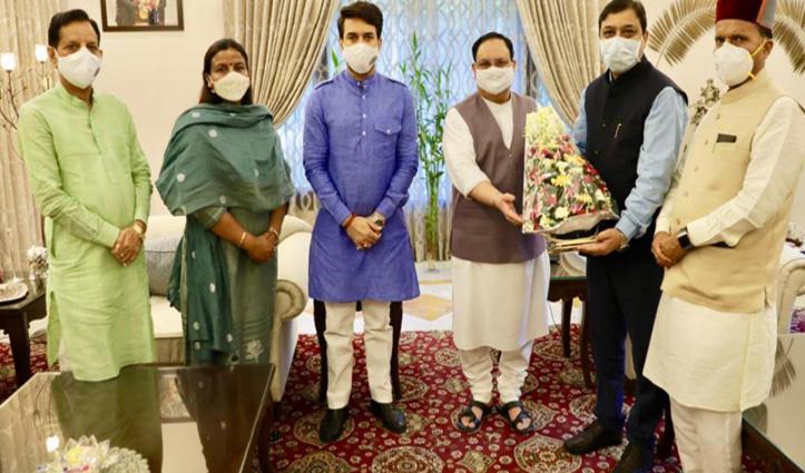 सुरेश कश्यप बोले- राजीव शुक्ला Congress की चिंता करें, दोबारा सत्ता में आएगी BJP