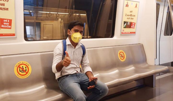 Delhi : 169 दिन बाद आज से फिर चली #Metro, इन बातों का रखना होगा ध्यान
