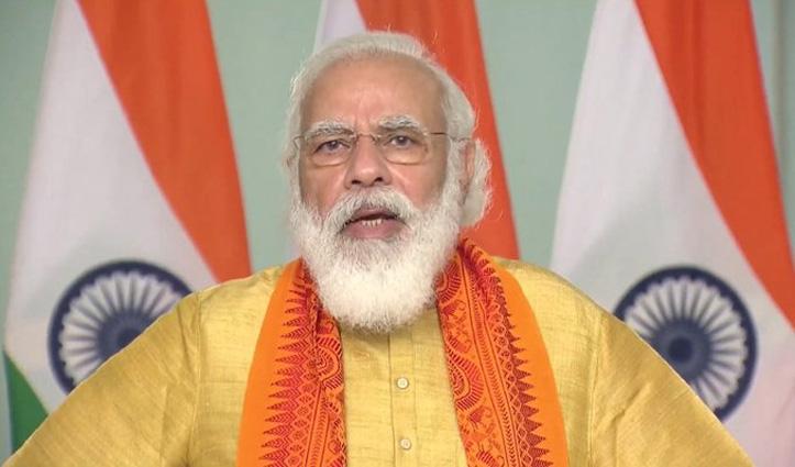 विपक्ष पर बरसे PM मोदी: किसान जिस Tractor की पूजा करते हैं; इन्होंने उसे आग लगा दी
