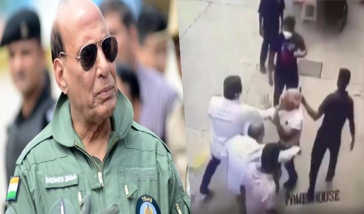 CM उद्धव का कार्टून शेयर किया नेवी अफसर को शिवसैनिकों ने पीटा; रक्षा मंत्री बोले- यह बर्दाश्त नहीं