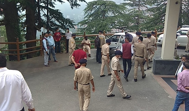 #Monsoon_Session से पहले विधानसभा में तैनात कैटरिंग टीम का कर्मी निकला पॉजिटिव