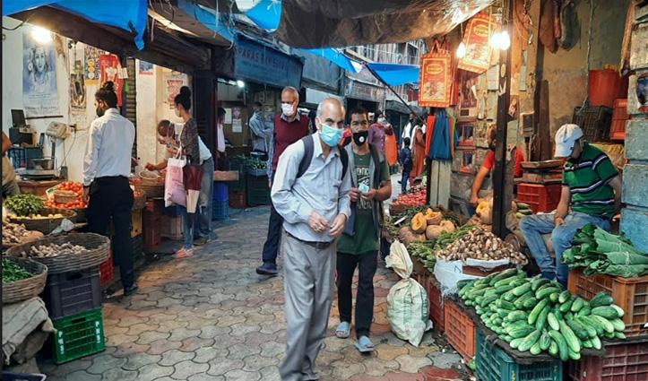 #Shimla : सब्जियों के दामों में आया उछाल, थाली से गायब हुए मटर-टमाटर
