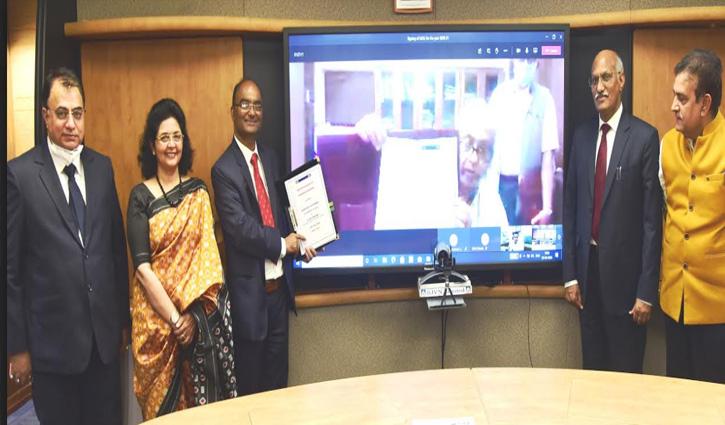 SJVN ने विद्युत मंत्रालय भारत सरकार के साथ समझौता ज्ञापन पर किए हस्ताक्षर