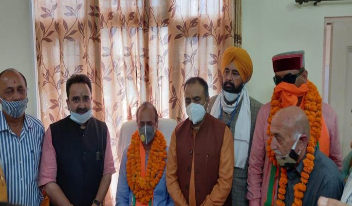 जोगिंद्रा केंद्रीय सहकारी बैंक को मिला नया President और Vice President
