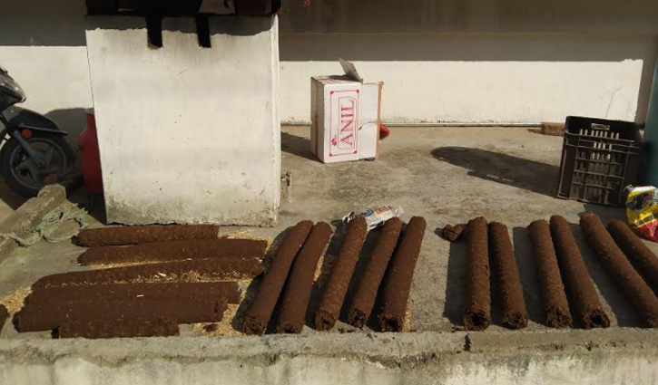 ईंधन की कमी को पूरा करेंगे मशीन से तैयार किए उपले, सोलन में लगाई प्रदेश की पहली Machine