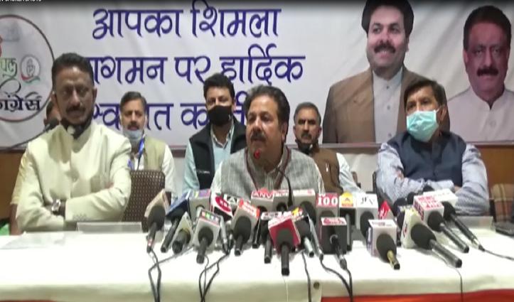 हिमाचल Congress ने लिया फैसला, अब करेगी ऐसा- राजीव शुक्ला ने किया खुलासा