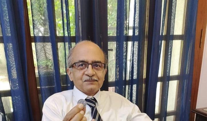 प्रशांत भूषण ने भरा 1 रुपया जुर्माना, कहा- SC के फैसले के खिलाफ आज दूंगा पुनर्विचार याचिका