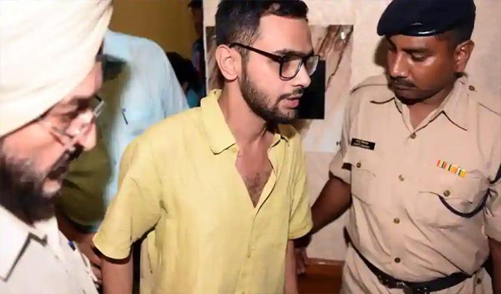 दिल्ली दंगे: UAPA में गिरफ्तार उमर खालिद को 10 दिन की पुलिस रिमांड