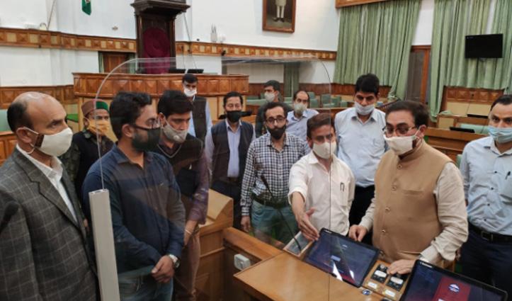 #Monsoon_Session से पहले परमार ने लिया सचिवालय में तैयारियों का जायजा, दिए ये निर्देश