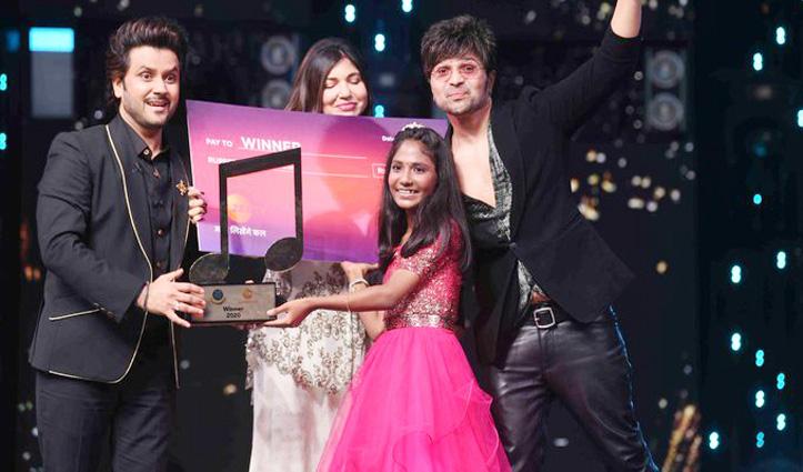 #Aryananda_Babu बनीं सारेगामापा लिटल चैंप्स 2020 की Winner, ट्रॉफी के साथ जीते पांच लाख रुपए