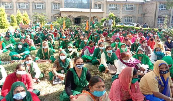 #HP_Protest: श्रम कानूनों के विरोध में प्रदेश भर में गरजा भारतीय मजदूर संघ, ज्ञापन सौंप दी यह चेतावनी