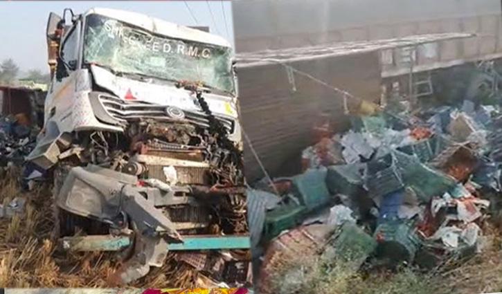 #Himachal के तीन युवकों की हरियाणा में दर्दनाक #Road_Accident में गई जान
