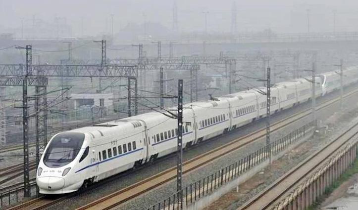 सिर्फ ढाई घंटे में पहुंच जाएंगे Delhi से Lucknow, 500 किमी की दूरी कम करेंगी ये #High_Speed_Train