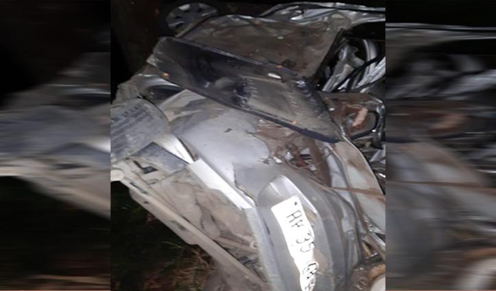 आनी में Car Accident:जाबन पंचायत के उपप्रधान की गई जान