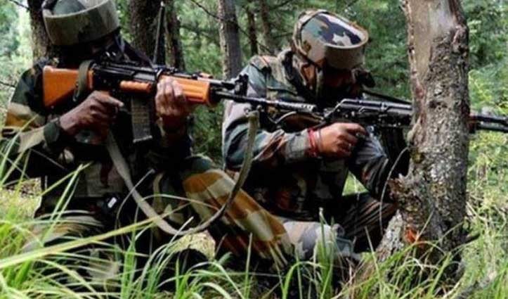 जम्मू-कश्मीर : LoC पर सेना ने ढेर किए तीन घुसपैठिए, मुठभेड़ में 4 जवान घायल