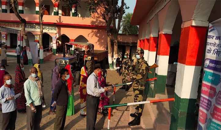 #Bihar चुनाव LIVE:पहले चरण में 71 सीटों के लिए वोटिंग शुरू, PM मोदी ने की यह अपील