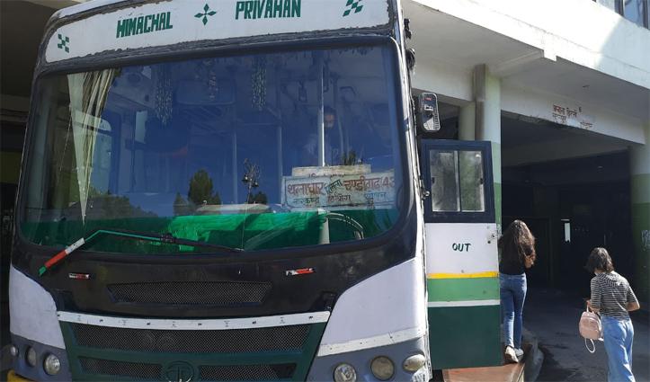 सात माह के इंतजार के बाद हिमाचल सरकार ने आज शुरू की Inter State Bus Service