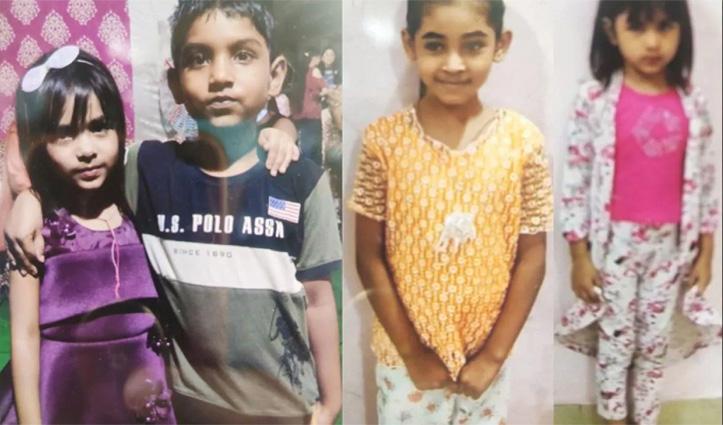 #Delhi में तेज रफ्तार Car का कहर: 3 बच्चों समेत 4 को उड़ाया, 2 की गई जान