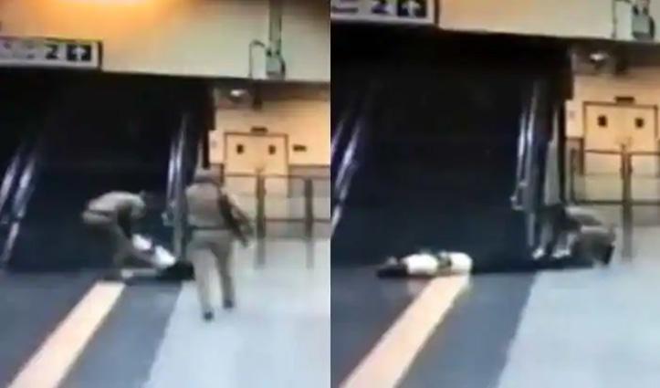 दिल्ली में मेट्रो स्टेशन पर CISF जवान ने CPR देकर बचाई यात्री की जान; देखें वीडियो