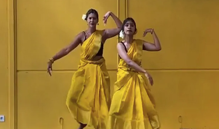 Hip-Hop और भरतनाट्यम का बेहतरीन फ्यूजन, #Video देखकर खुश हो जाएगा दिल