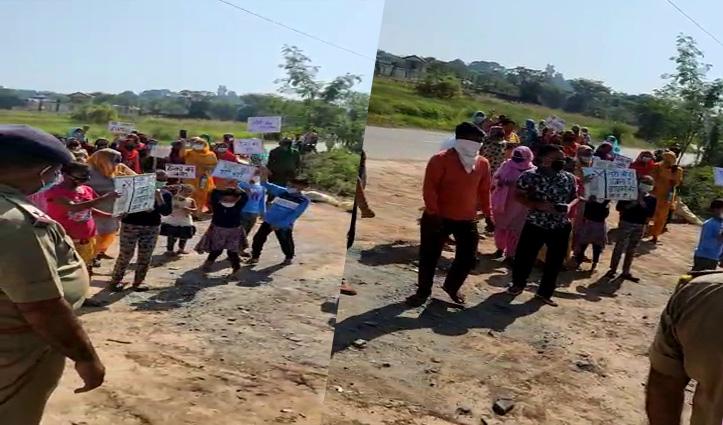 ग्रामीणों की दो टूकः 10 दिन में हटाओ शराब का ठेका, नहीं तो तोड़फोड़ को रहो तैयार