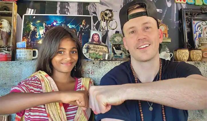 Hollywood Actor रॉबर्ट हॉफमैन को मुंबई की इस लड़की ने सिखाई हिंदी; वीडियो वायरल