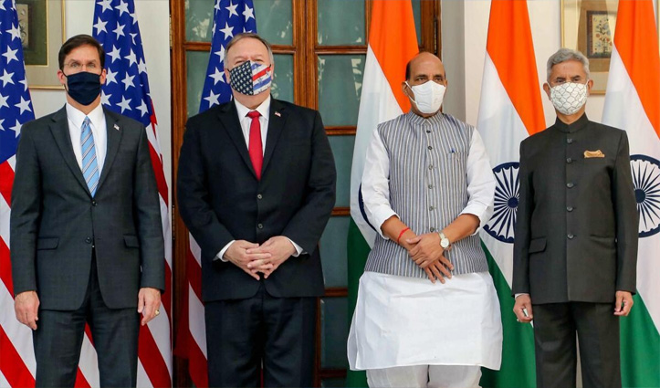 भारत-अमेरिका के बीच फाइनल हुई BECA डील: परमाणु सहयोग बढ़ाने पर दोनों देशों में करार