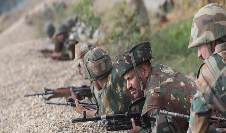 J&K:पाकिस्तानी गोलीबार में शहीद हुए तीन भारतीय जवान; जवाबी कार्रवाई में पाक सैनिक भी मारे गए