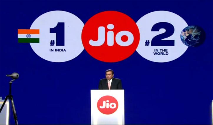 4जी डाउनलोड स्पीड में #Jio सबसे आगे: 40 करोड़ ग्राहकों का आंकड़ा छू कर रचा इतिहास