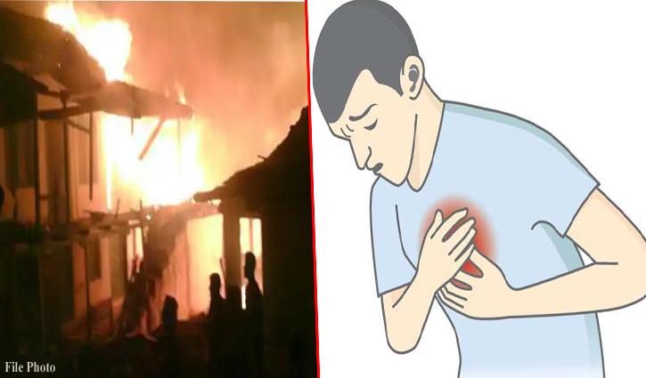 #Manali: तीन भाइयों के मकान में लगी Fire, घर को जलता देख बड़े भाई को पड़ा दिल का दौरा