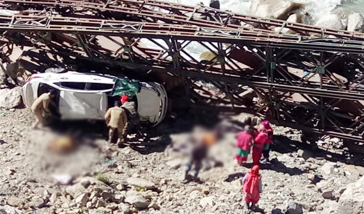 #AtalTunnelRohtang के समीप कार हादसा, राजस्थान के 2 पर्यटकों की मौत