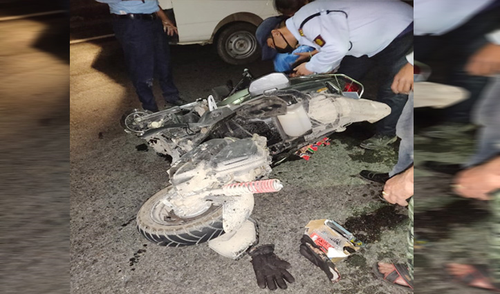तेज रफ्तार Tata Sumoने स्कूटी को मारी टक्कर ,Hospital पहुंचने से पहले गई जान