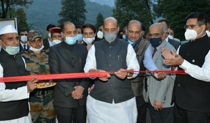 रक्षा मंत्री ने 736.18 लाख से बनने वाली Calibration Lab Building का किया शिलान्यास