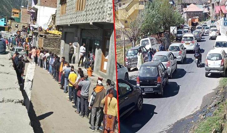 #Atal_Tunnel खुलने के बाद लाहुल में बढ़ी पर्यटकों की संख्या, त्रिलोकीनाथ मंदिर में उमड़ रहा जनसैलाब