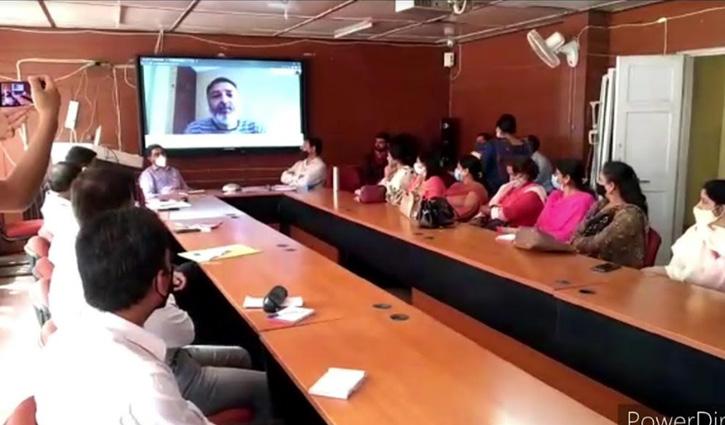 #Mandi: नई राष्ट्रीय शिक्षा नीति को लेकर मंडी में टास्क फोर्स की बैठक, जाने क्या हुई चर्चा