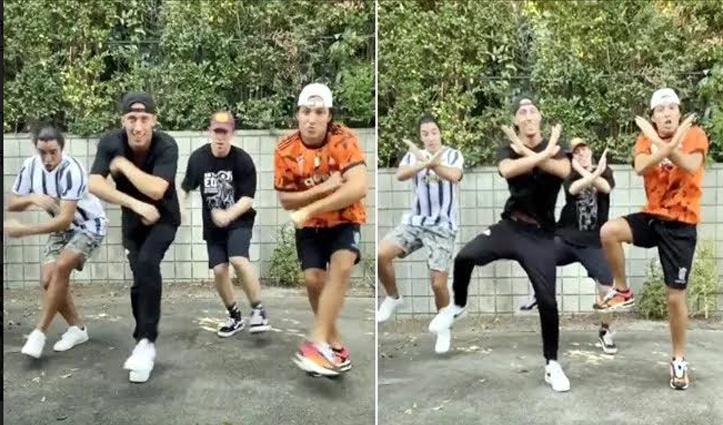 #Viral_Video : दलेर मेहंदी के गाने पर विदेशी लड़कों ने किया ऐसा Dance, आप देखेंगे बार-बार