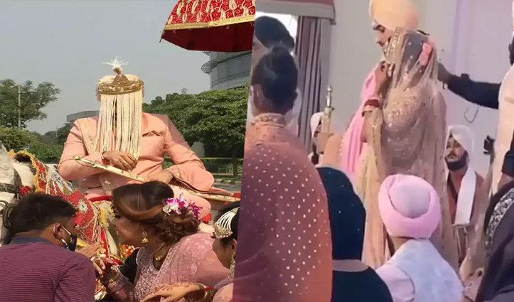 एक-दूजे के हुए नेहा कक्कड़ और रोहनप्रीत: देखें शादी का इनसाइड #Video
