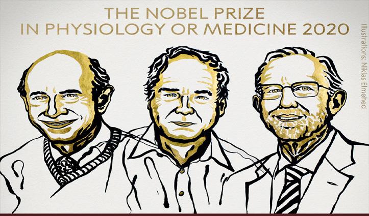 'Hepatitis C' वायरस की खोज करने वाले वैज्ञानिकों ने जीता 2020 का मेडिसिन नोबल पुरस्कार