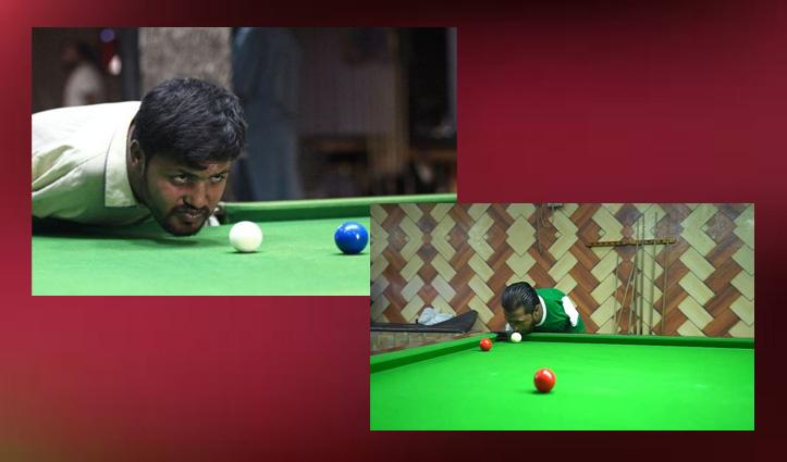 बिना हाथों के जन्मे पाकिस्तानी शख्स ने ठोढ़ी से Snooker खेलने में की महारत हासिल