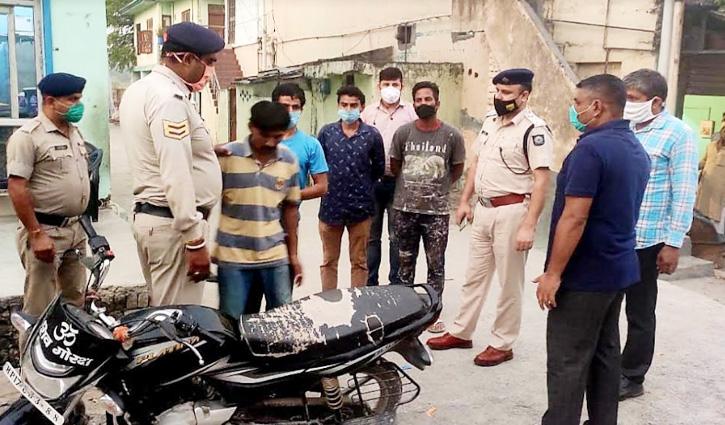 Paonta Sahib: अज्ञात वाहन ने मारी Bike सवार को टक्कर, मौक पर गई जान