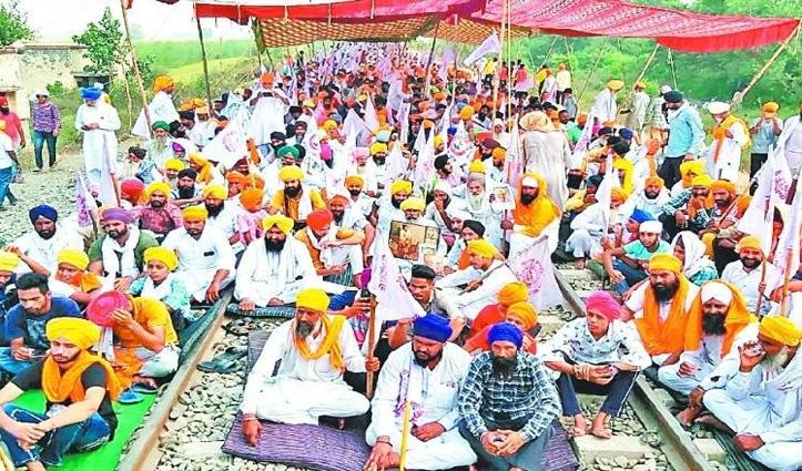 रेल रोको आंदोलन से #Punjab में बिजली संकट: कोयले की भारी कमी, दो थर्मल प्लांट ठप