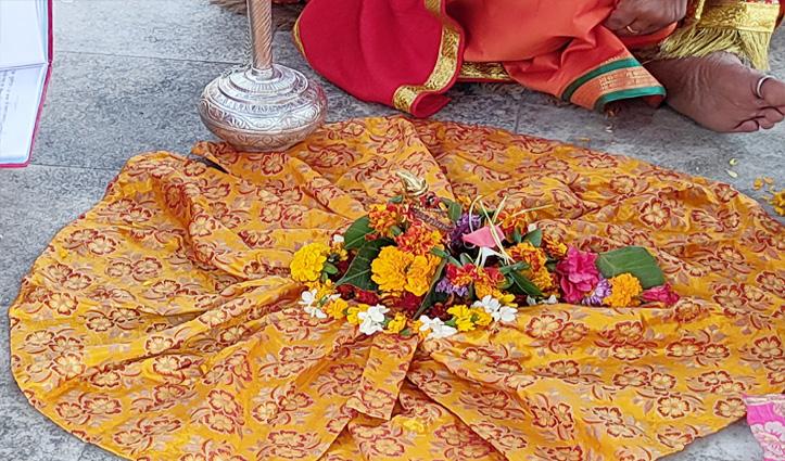 #Kullu_Dussehra : भगवान रघुनाथ का सोने-चांदी से श्रृंगार