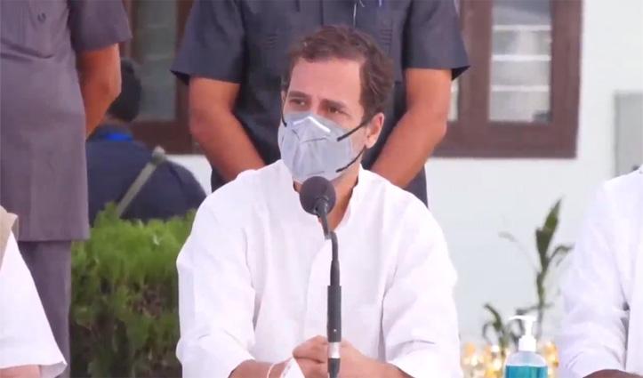 कृषि कानूनों पर #Rahul का हल्ला बोल जारी: कहा- हम पंजाब-हरियाणा के किसानों की लड़ाई लड़ रहे