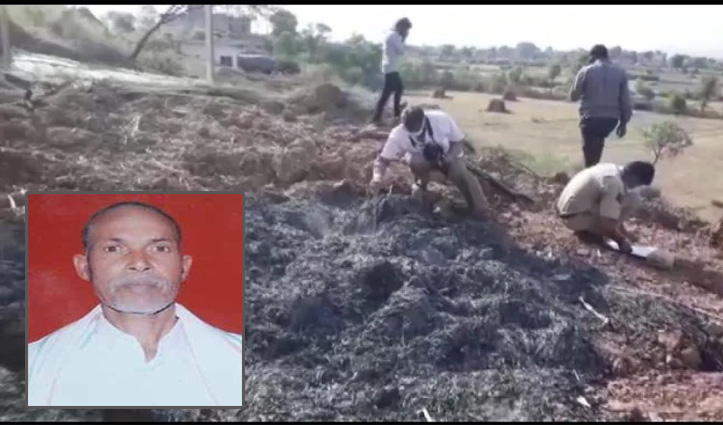 #Rajasthan के करौली में पुजारी को पेट्रोल डालकर जिंदा जलाया, मंदिर की जमीन के लिए था विवाद