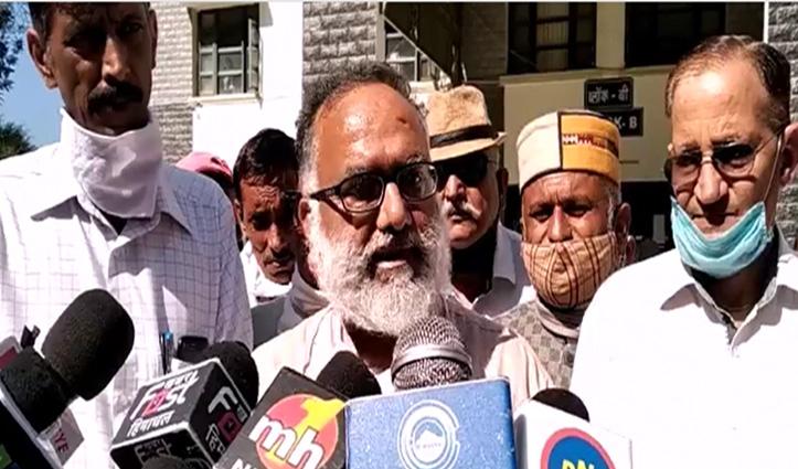 सोलन में गरजे सुशांत- बोले, कर्मचारियों की मांगें पूरी नहीं कर सकते तो Resign दें CM Jai Ram