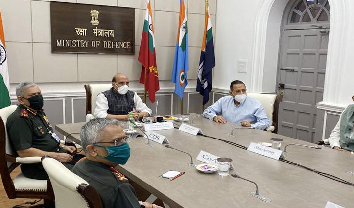 Defence Minister Rajnath Singh ने ऑनलाइन किया मनाली-लेह मार्ग पर बने तीन पुलों का लोकार्पण