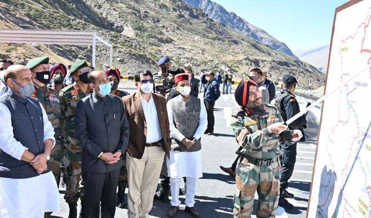 Rajnath Singh ने नहीं किया पुलों का उद्घाटन, बोले: Atal Tunnel के साथ ही देश को समर्पित होंगे पुल